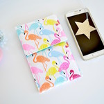 Flamingo phone pouch