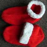 Christmas Knitted Slipper Socks Bed Socks