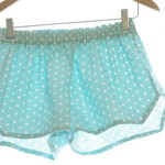 Whimsy Collection ~ Aqua Dot ~ Bridesmaids~ Polka Dot Sleep Shorts Pyjamas Pijam