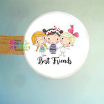 Best Friends Stickers,  Friendship Labels, Labels for friends
