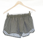 Whimsy Collection ~ Silver Dot ~ Bridesmaids~ Polka Dot Sleep Shorts Pyjamas Pij
