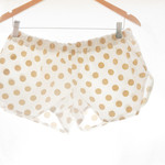 Bridesmaids~ Rose Gold Quartz Melbourne Collection Women's Polka Dot Sleep Short