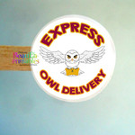 Harry Potter Owl Express Stickers - Labels for Packaging - Envelopes
