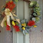 Artificial Australian Native Flower Christmas Wreath