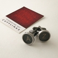 A+Z set of typewriter-key cufflinks - or CHOOSE YOUR OWN KEYS