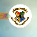 Harry Potter Hogwarts Shield Stickers - Harry Potter Labels - Gifts - Envelopes