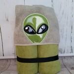 Alien Hooded Towel