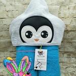 Penguin Boy Hooded Towel