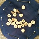Handmade Elder Futhark Runes, wooden runes, viking divination