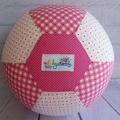 Balloon Ball: Pink/White Stars & Spots
