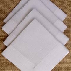 Cocktail Napkin White - Set of 4, 6 or 8