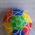 Balloon Ball: Primary colours with spots