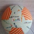Balloon Ball: Blast off with Orange.