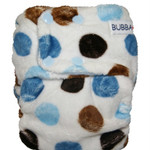 Blue Dot Minky OSFM Ai2 Modern Cloth Nappy