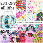 Bib Sale Don't Miss Out