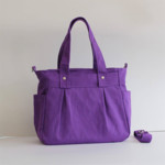 Teachers Carry All Bag, PRE-ORDER JANUARY DELIVERY PURPLE WATER RESISTANT NYLON