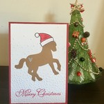 Horse Christmas Card - free postage