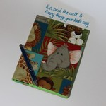 Journal cover with journal, Keep a record of the cute things your children say
