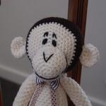 Myles - Hand crocheted monkey by CuddleCorner : OOAK, Washable, Unisex