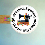 Sewing Handmade  Stickers - Labels for Sewing Products - Sewers