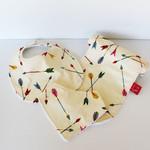 Baby Bib - Burp Cloth - Bandana Bib - Dribble Bib - Baby Accessories