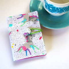 Tea Bag Wallet - Candy Unicorns