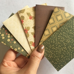 Christmas / Birthday Gift Card Holder envelope - 6 pack