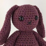 Raspberry Bunny Softie | Toy | Child | Gift Idea | Hand Crochet | Ready to Post