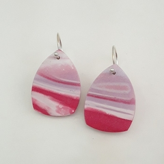 Polymer Clay Sterling Silver Earrings