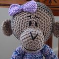 Milly - Hand crocheted Monkey by CuddleCorner