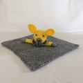 Jill Bunny - Knitted baby blankie.