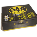 Batman Themed Time Capsule Keepsake Treasure Trinket Wooden Memory Box