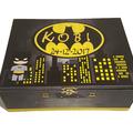 Batman Themed Time Capsule Keepsake Treasure Trinket Wooden Memory Box