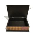Gryffindor Theme with HP Trio Silhouette Keepsake Memory Treasure Wooden Box
