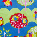 Kids/Toddlers Apron -  Hootie Owl - lined kitchen/craft/play apron - owls/trees