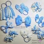 Big Bella 'Variety' School Bow Pack -  Custom Made in school colors