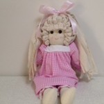 Rag Doll - Small Pink and White Gingham