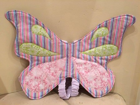 Whimsical Fabric Wings
