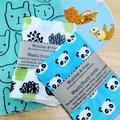 wash or burp cloth - 3 bulk buy / organic cotton bamboo / baby child girl boy
