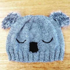 baby beanie - koala / alpaca / Australiana / unisex 4-12 months