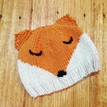 baby beanie - fox / organic merino / unisex 4-12 months