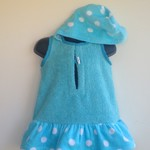 Size 1 Girls Beach Towel Dress/Pool Cover up