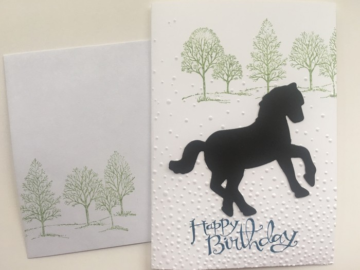 Horse birthday card free postage stacey c handmade cards horse birthday card free postage bookmarktalkfo Gallery