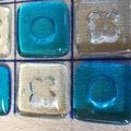 Fused Glass Tic Tac Toe