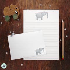Little Elephant Letter Writing Set