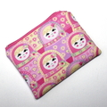 Small Coin Purse with a Pretty Babushka Doll Design