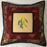 Australiana cushion cover - 'Bush Banana'