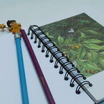 The Night Fairy notebook - made from an upcycled book - Journals & notebooks