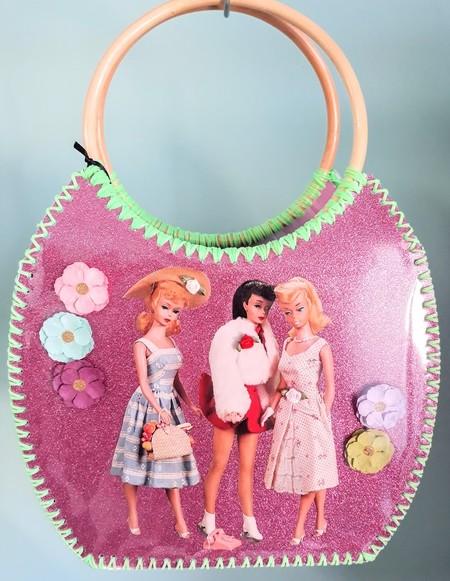 Vintage inspired handcrafted bag