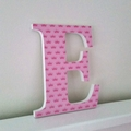 Wall or Door Letters. 17cm. 1 Letter.